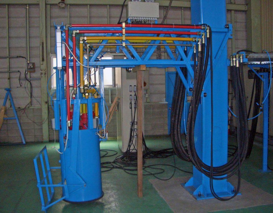 Máquina especial mezclador de polímeros