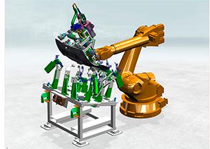 Diseño cabezales robots automáticos
