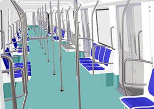 Diseño CAD/CAE para la modernización de vehículos ferroviarios