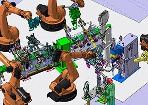 Ingeniería producción y estación de soldadura SEAT LEON