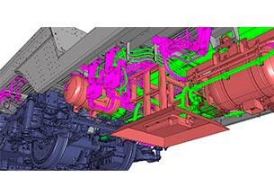 Instalaciones mecánicas tren trasncontinental AMTRAK
