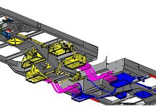 Ingeniería para interconexión bajo bastidor del Cercanías Izmir