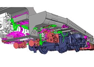 Ingeniería completa de las instalaciones mecánicas AMTRAK