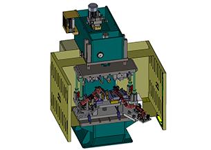 Diseño y fabricación Máquina especial para el clinchado de tubos de escape