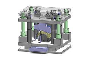 Diseño y fabricación Máquina especial punzonado