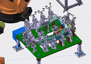 Ingeniería de fabricación y diseño estación marriage