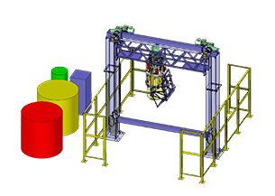 Diseño y fabricación Máquina especial mezcladora de polímeros