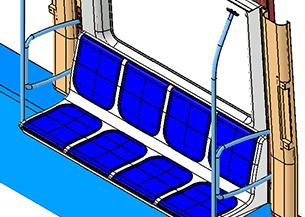 Propuestas de diseño en acabado de asientos y asideros