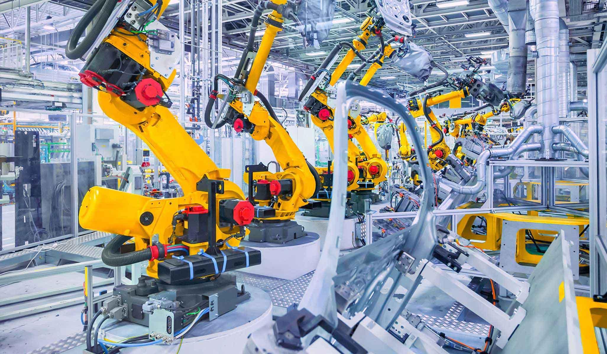 Brazos articulados en industrialización