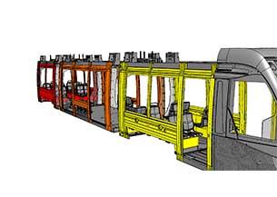 Ingeniería estructural para tranvía