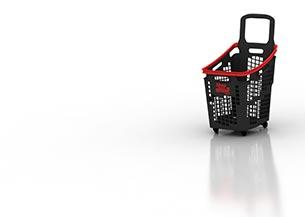 Diseño producto cesta de compra