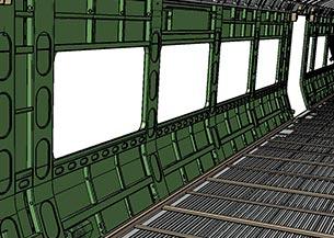 Estructura de caja ferroviaria