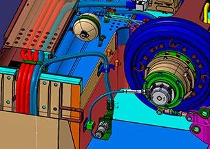 Ingeniería instalaciones mecánica e Interconexión a bogie