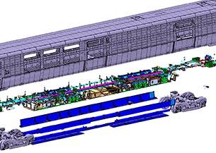 Sistemas mecánicos tren trasncontinental AMTRAK