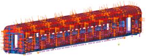 simulación de aplicación de cargas